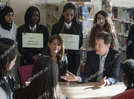 Nick Clegg and Lynne Featherstone