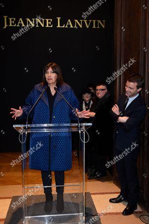 Mayor of Paris Anne Hidalgo, Shaw-Lan Wang, Bruno Julliard and Albert Elbaz