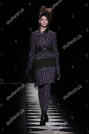 Editorial photo of Haider Ackerman show, Autumn Winter 2015, Paris Fashion Week, France - 07 Mar 2015