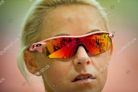 Stock Picture of A general view of Great Britain's Jenny Meadows before running in the semi-finals of the Women's 800m