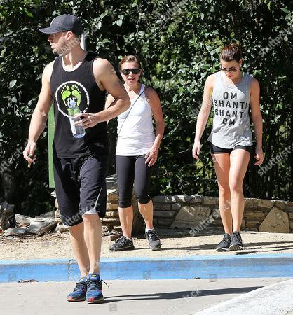 Matthew Paetz, Lea Michele, Edith Sarfati