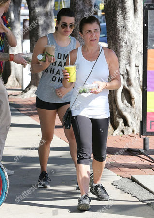 Editorial photo of Lea Michele out and about, Los Angeles, America - 07 Mar 2015
