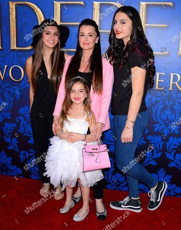 Kyle Richards and daughters Portia, Sophia, Alexia Umansky