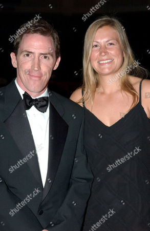 Rob Brydon and girlfriend Claire Holland
