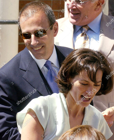 Matt Lauer and his wife Annette