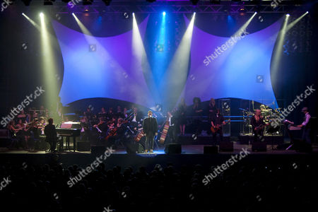 Bobby Kimball, singer and frontman of U.S. band Toto live at Rock Meets Classic at the civic hall Sursee, Lucerne, Switzerland