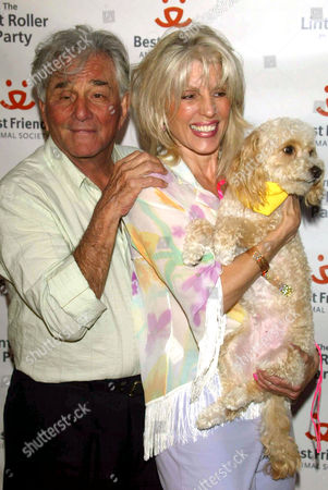 Peter Falk and wife Shera Danese