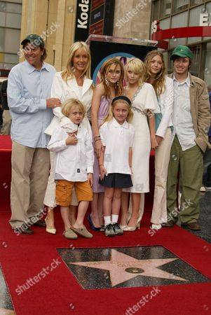 Editorial picture of THE OLSEN TWINS RECEIVE A STAR ON THE HOLLYWOOD WALK OF FAME, LOS ANGELES, AMERICA - 29 APR 2004