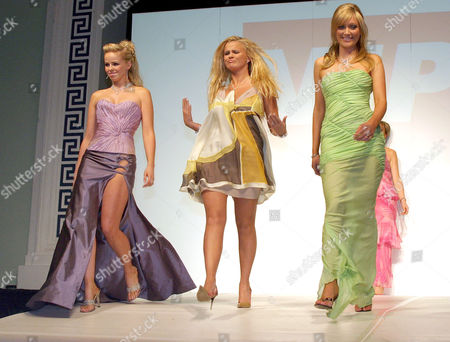 Editorial image of VIP LIVE FASHION SHOW AT THE ROYAL DUBLIN SOCIETY HALL, DUBLIN, EIRE - 29 APR 2004