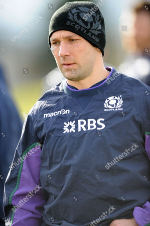 Chris Cusiter - Scotland scrum half.