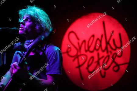 Editorial photo of Kim Churchill in concert at Sneaky Pete's, Edinburgh, Scotland, Britain - 08 Mar 2015