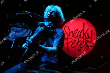 Editorial image of Kim Churchill in concert at Sneaky Pete's, Edinburgh, Scotland, Britain - 08 Mar 2015