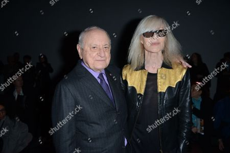 Pierre Berge and Betty Catroux