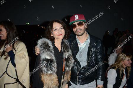 Nathalie Rykiel and Olivier Zahm