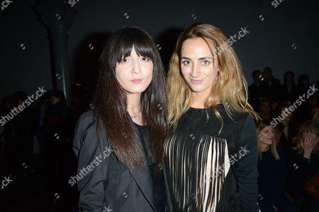 Irina Lazareanu and Alexia Niedzielski
