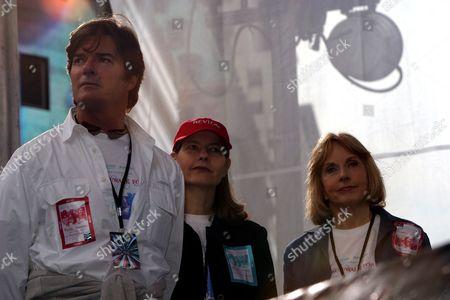 Roberto Rossellini, Ingrid Rossellini, Pia Lindstrom