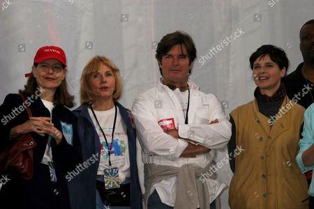 Ingrid Rossellini, Pia Lindstrom, Roberto & Isabella Rossellini