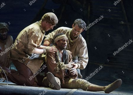 Editorial image of 'The Wild Man of the West Indies' Opera performed by English Touring Opera at Hackney Empire Theatre, London, Britain - 10 Mar 2015