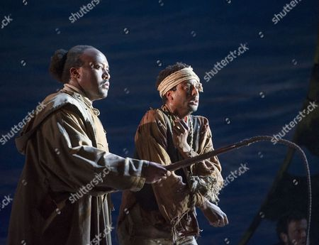 Editorial photo of 'The Wild Man of the West Indies' Opera performed by English Touring Opera at Hackney Empire Theatre, London, Britain - 10 Mar 2015