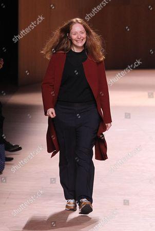 Editorial image of Hermes show, Autumn Winter 2015, Paris Fashion Week, France - 09 Mar 2015