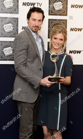 David Caves and Emilia Fox -Crime Programme of the year - Silent Witness