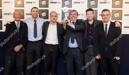 TRIC Special Award - Match of the Day - Barry Davies, Martin Keown, Danny Murphy, Jonathan Pearce, unknown and Simon Brotherton