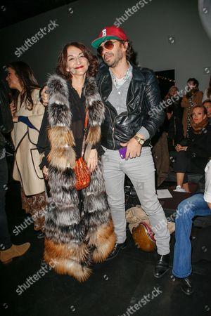 Stock Image of Nathalie Rykiel and Olivier Zahm
