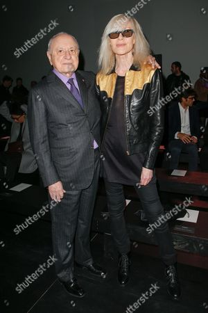 Stock Picture of Pierre Berge and Betty Catroux