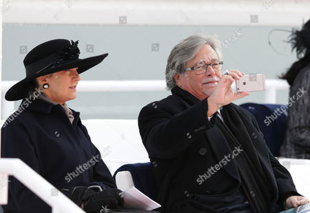 Micky Arison Chairnan and CEO of Carnival Corporation, whose portfolio includes P&O takes a picture