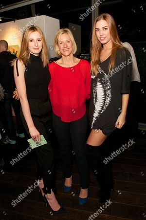 Editorial photo of Astley Clarke and Theirworld charitable partnership launch in the Rumpus Room at The Mondrian, London, Britain - 10 Mar 2015