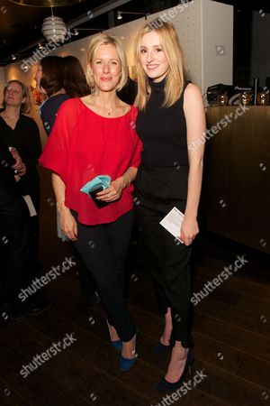 Stock Photo of Bec Astley Clarke and Laura Carmichael