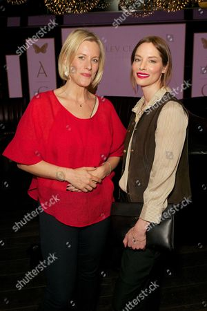 Bec Astley Clarke and Sienna Guillory