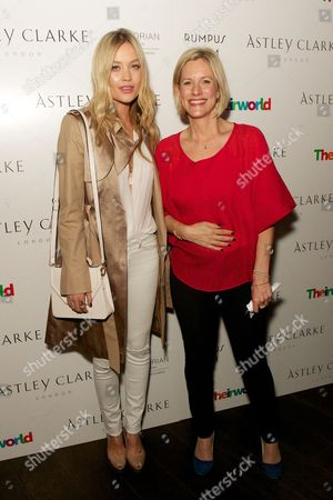 Laura Whitmore and Bec Astley Clarke