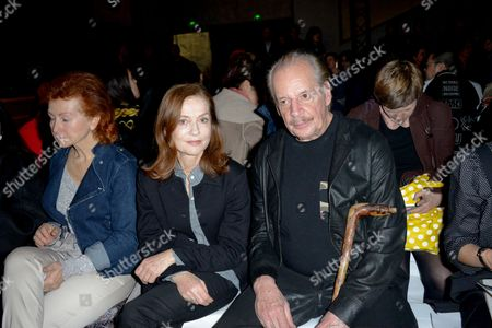 Isabelle Huppert and Larry Clark