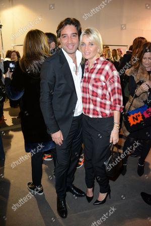 Franck Mechaly and Sophie Albou