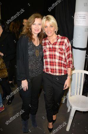 Valerie Trierweiler and Sophie Albou