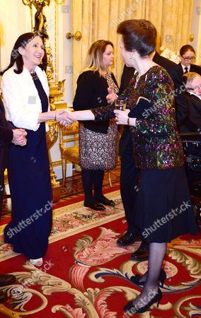 Princess Anne and Jane Hawking