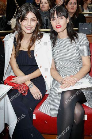 Alessandra Mastronardi and Isabella Manfredi