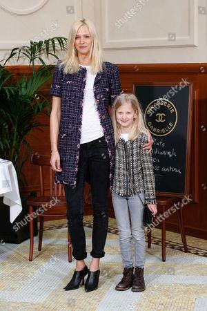 Carmen Kass and her goddaughter