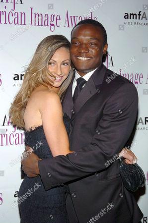 Katrina Campins and Kwame Jackson
