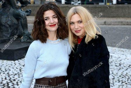 Esther Garrel and Camille Seydoux