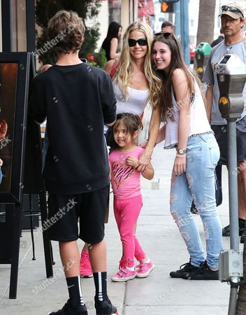Editorial photo of Denise Richards out and about, Los Angeles, America - 11 Mar 2015