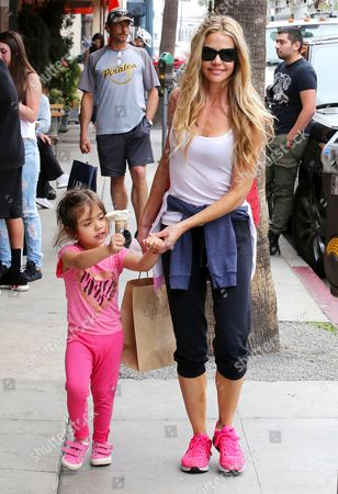 Editorial image of Denise Richards out and about, Los Angeles, America - 11 Mar 2015