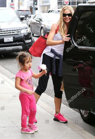 Stock Picture of Denise Richards and Eloise Joni Richards
