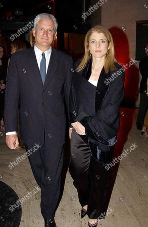 ED SCHLOSSBERG WITH CAROLINE KENNEDY