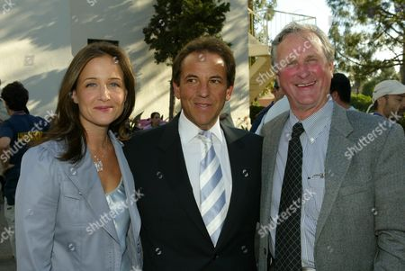 Elizabeth Wiatt, Jim Wiatt and NRDCs' John Adams