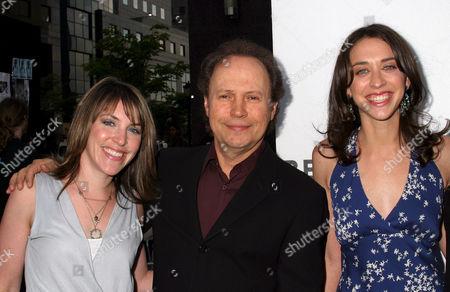 Jennifer Crystal, Billy Crystal and Lindsay Crystal
