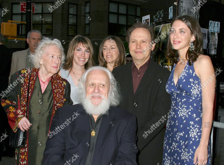 Billy Crystal with wife Janice and daughter Jennifer (left), Lindsay Crystal and Uncle Burns