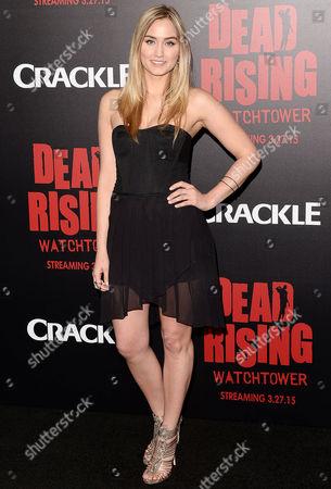 Editorial image of 'Dead Rising: Watchtower' film premiere, Los Angeles, America - 11 Mar 2015