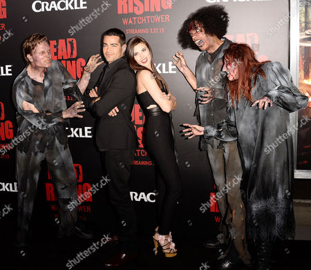 Jesse Metcalfe, Meghan Ory and zombies